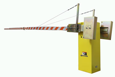 from 14 ft to 36 feet Strong Arm Lift Gates Traffic Barriers